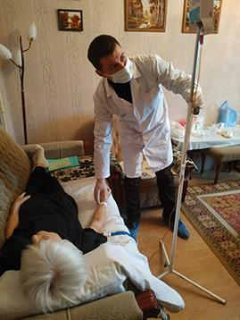 мед.брат Дмитрий Сергеевич, Патронажная служба Белгорода